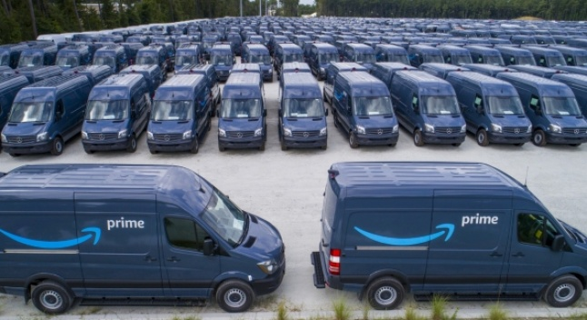 Amazon-ი Mercedes Sprinter-ის მსოფლიოში უმსხვილესი მომხმარებელი გახდა
