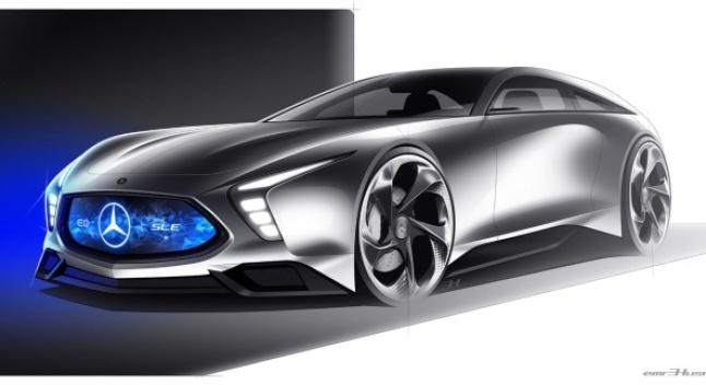 უნივერსალური Mercedes-Benz SLE – SL-ის ფუტურისტული მომავალი
