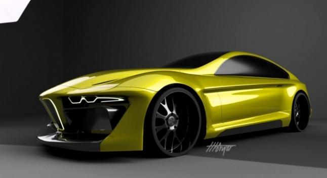 BMW ჰიბრიდულ სუპერმანქანაზე მუშაობს