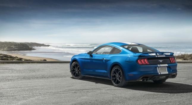 Ford-ი 2020 წლისთვის უფრო ძლიერ Mustang Ecoboost-ზე მუშაობს
