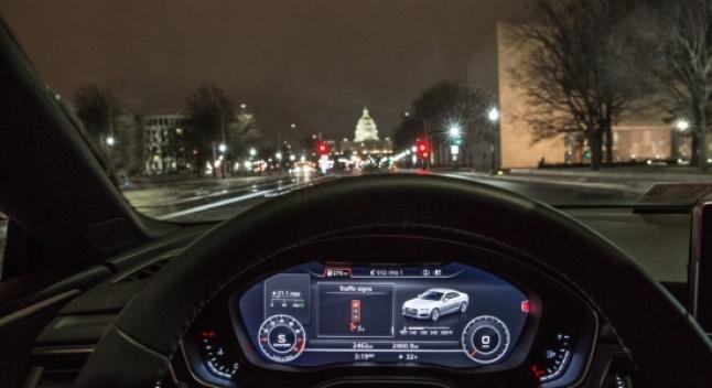 Audi-ს ახალი სისტემა გეტყვით, რა სიჩქარით იაროთ, რომ შუქნიშანთან წითელზე არ მოხვდეთ