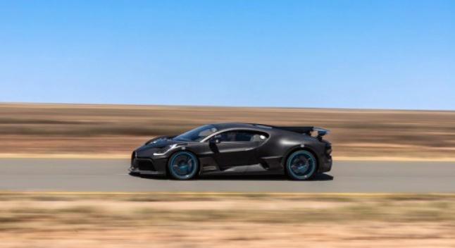 Bugatti ჰიპერქარ Divo-ს ტესტირების დროს გადაღებულ ფოტოებს აქვეყნებს