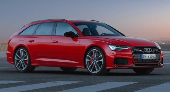 2020 წლის Audi S6 Avant-ი დიზელზე მომუშავე ფურგონია