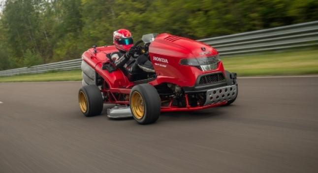 Honda-ს ახალი ბალახის საკრეჭი უფრო სწრაფია, ვიდრე თქვენი მანქანა - ახალი მსოფლიო რეკორდი