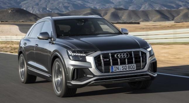 2020 წლის Audi SQ8-ს დიზელის 4.0-ლიტრიანი V8 ტურბოძრავა ექნება