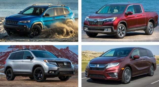 აშშ-ში წარმოებულ ავტომობილთა სიაში Honda ლიდერობს