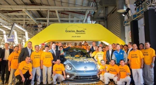 Volkswagen Beetle-ის წარმოება დასრულდა - ბოლო მანქანამ მექსიკის ქარხანა დატოვა