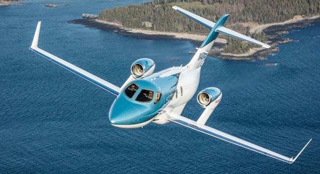 Honda-მ ახალი, ბიზნეს-კლასის თვითმფრინავი წარმოადგინა
