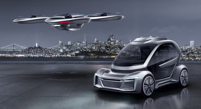 Audi მფრინავი მანქანების პროტოტიპებს ტესტავს