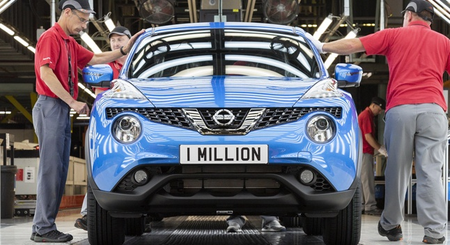 Nissan-მა მემილიონე Juke გამოუშვა